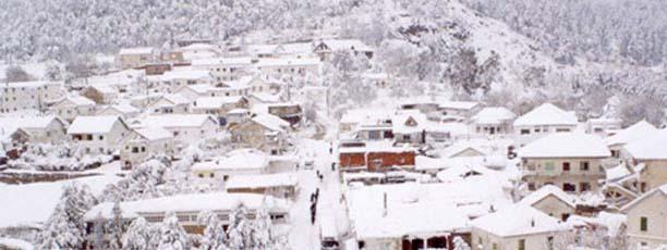 Poursuite des chutes de neige à Ain Draham  Tunisie-ain-draham-neige