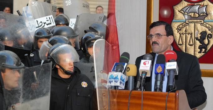 Tunisie minist re de l 39 int rieur la situation for Interieur ministere tunisie