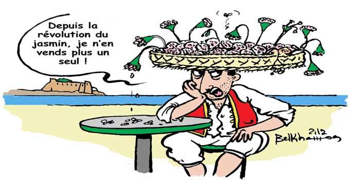 Caricature du jour Tunisie-tourisme-securite