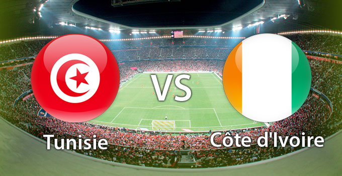 Côte d'Ivoire vs Tunisie CAN 2013 | 25.01.2013