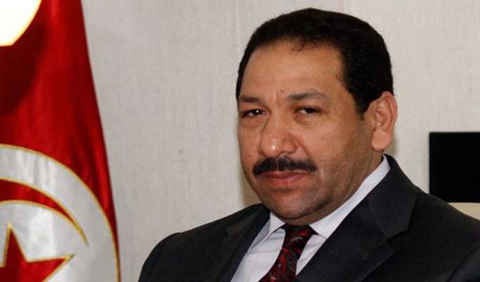 Lotfi ben jeddou reconduit la t te du minist re de l for Interieur ministere tunisie