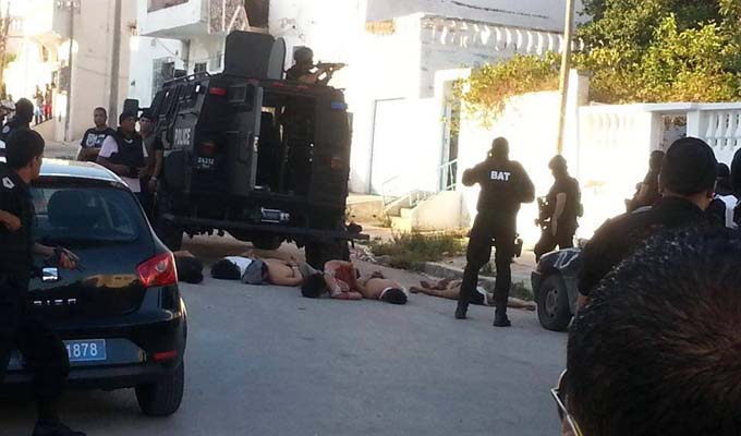 Al wardia 1 tu 1 bless et 4 arrestations directinfo for Ministere exterieur tunisie