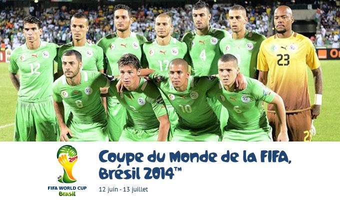 Mondial 2014 alg rie cor e du sud les cha nes qui - Coupe du monde de la fifa bresil 2014 ...