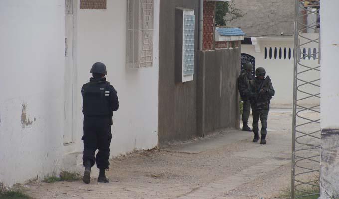 Terroristes encerclés à Oued Ellil - 23.10.2014 -(c) Almasdar.tn