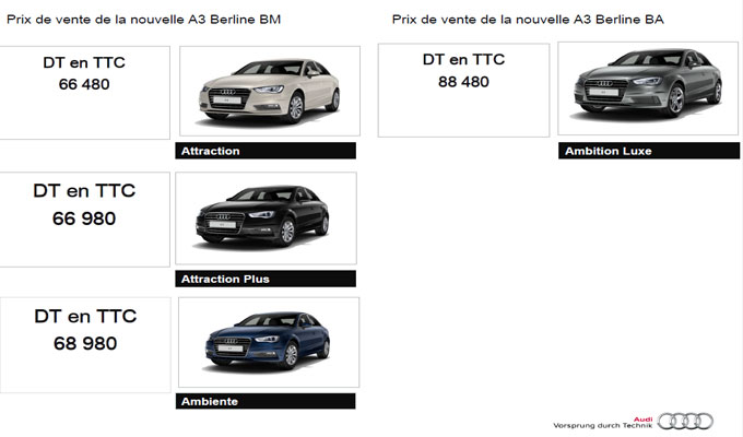 photos test drive de l 39 audi a3 berline directinfo. Black Bedroom Furniture Sets. Home Design Ideas