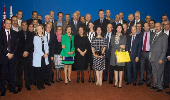 parlement-tunisie-utica-hommes-femmes-affaires