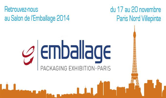 Le salon de l 39 emballage 2014 du 17 au 20 novembre paris for Salon de l emballage lyon