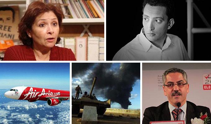 tunisie-directinfo-la-semaine-de-l'actualite-Sihem-Ben-Sedrine-Yassine-Ayari-ISIE-Libye-AirAsia