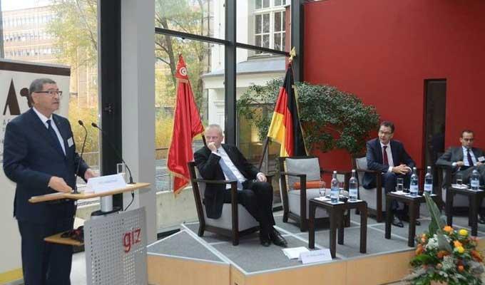 D marrage des travaux de la conf rence sur la coop ration for Chambre de commerce tuniso allemande